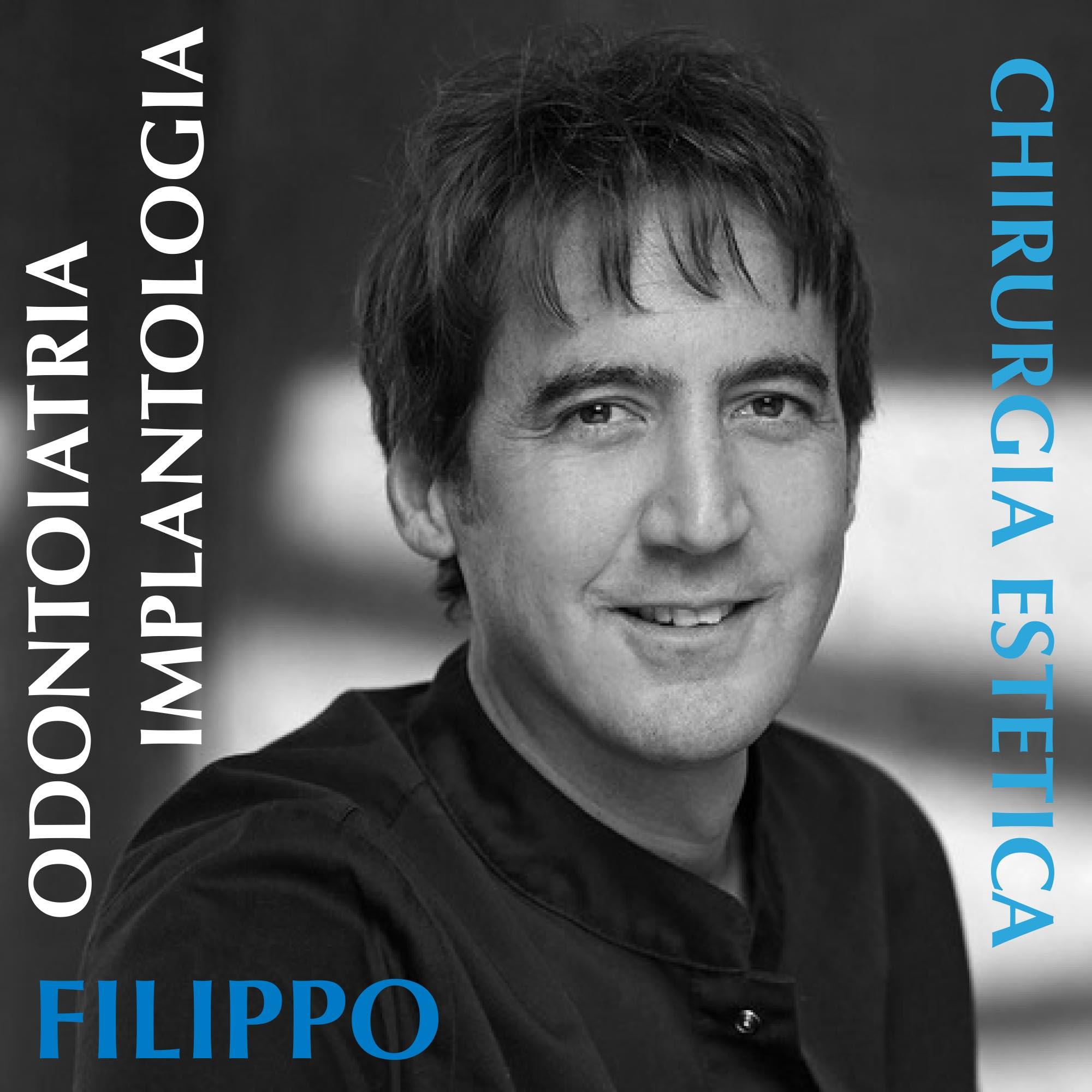 primo piano del Dottor Filippo Tomarelli dentista a Roma
