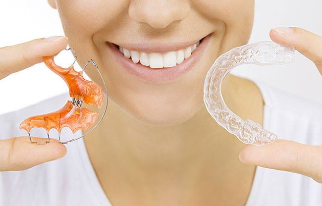apparecchi ortodontici estetici