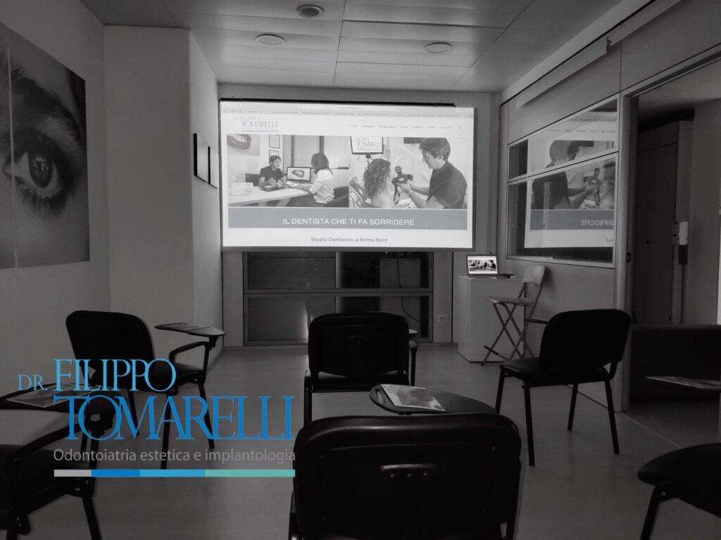 Sala Corsi dello Studio Dentistico Tomarelli a Roma